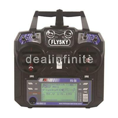 Flysky FS-i6 AFHDS 2A 2.4GHz 6CH Radio System Transmitter Receiver for RC plane