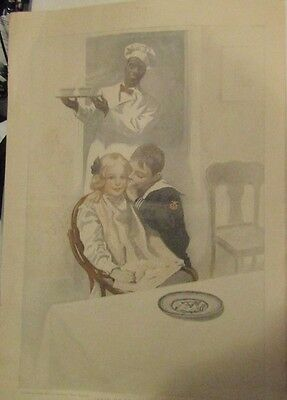 Cream Of Wheat Ad From 1907 Painted By George Gibbs