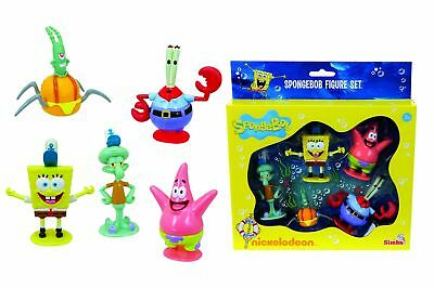 Simba Spongebob 5 Character Figures - Fast & Free delivery!