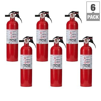 Abc Fire Extinguisher Home Boat Car Kidde 1-A:10-B:c Fire Extinguisher (6-Pack)
