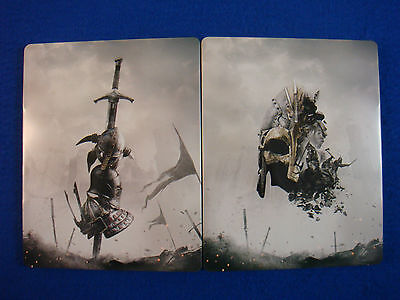 For Honor Steelbook Viking Edition New Size G2 - Ps3 Ps4 Xbox One
