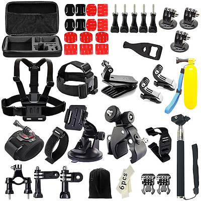 Iextreme 48-in-1 Action Camera Accessories Kits for Gopro 4/3/2/1 SJ4000 SJ5000
