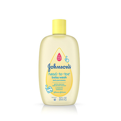 Johnson's Baby Head-to-Toe Wash, 15 Ounce (Pack of 2)