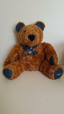 """Vintage large preloved Just Jeans 1994 18"""" tall teddy bear"""