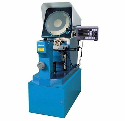 """Mitutoyo PH-A14 14"""" Optical Comparator 64PKA086 w/ KA counter and Stand"""