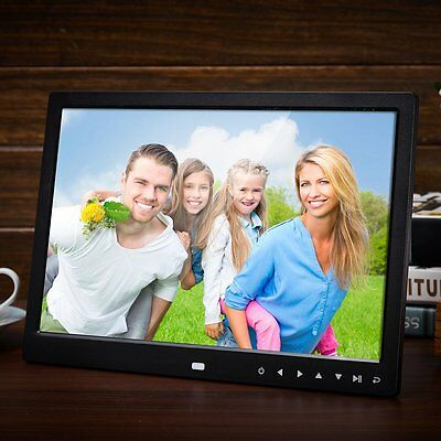 Multi-functional 13 Inch 1280*800 HD LED Digital Photo Frame Photo Album Frame A