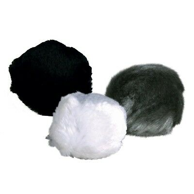 3 X Plush Cat Kitten Rattle Balls With Bell Infused With Catnip 3Cm Cat Toy Ball