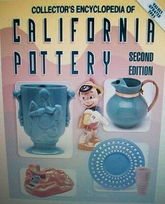 VINTAGE CALIFORNIA POTTERY PRICE GUIDE COLLECTOR'S BOOK Last Copy Printed