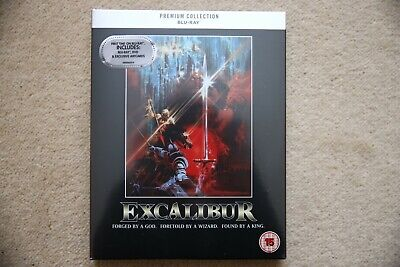 Blu-Ray Excalibur  Premium Exclusive Edition Brand New Sealed Uk Stock