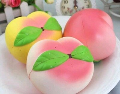 TOP QUALITY 1x Soft  Slow Rising Cream Scented Peach Squishy FAST US SHIPPING