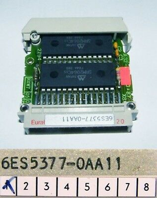Siemens SIMATIC S5 6ES5 377-0AA11 6ES5377-0AA11 E-Stand: 01 -used-