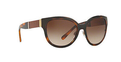 c6fb1153758e NWT Burberry Sunglasses BE 3087 1217 13 Havana   Brown Gradient 57 mm  121713 NIB