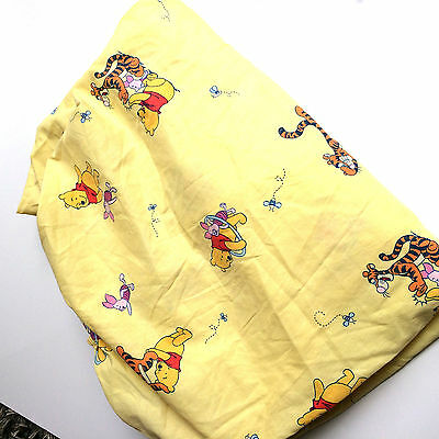 Winnie the Pooh Fitted and Flat Kids Sheet Set Toddler Size