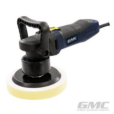 GMC Dual Action Rotary Random Orbital Sander Buffer Polisher Car 3 Sponges Bag