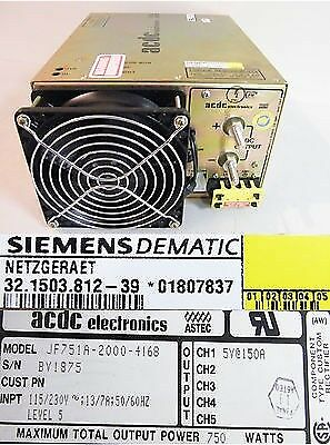 acdc Netzgerät JF 751 A-2000-4168 Siemens DEMATIC 32.1503.812-39 -unused-