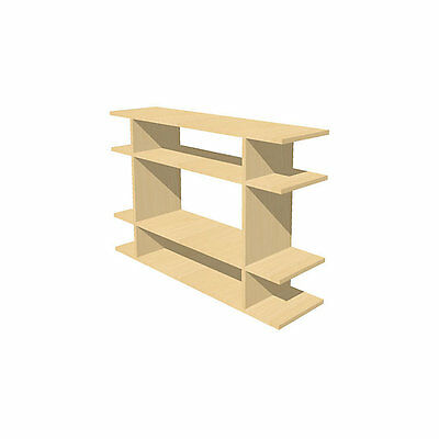 3' Wide Short Bookshelf by Smart Furniture - 0203f004