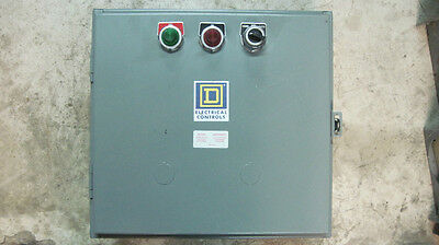 Square D Lighting Contactor Class 8903 Type L & Lx #3820889Ajo N1