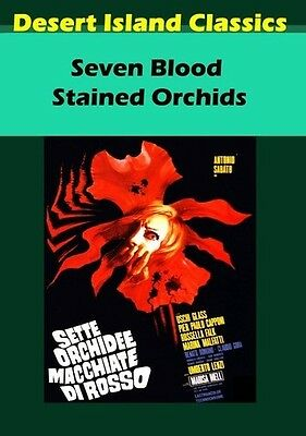 Seven Blood Stained Orchids (2015, DVD NUEVO) (REGION 1)