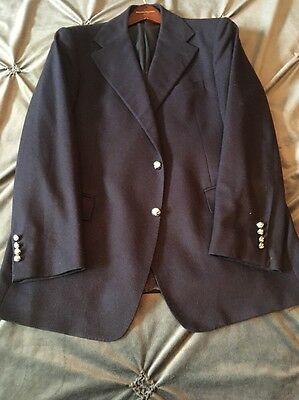 Pre-owned polo ralph lauren garrison virgin wool Sport coat blazer 44R  1295 704e41c9af9f