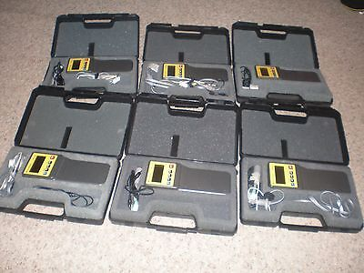 Lot of 6 Texas Instruments CBL Calculator Based Laboratory Systems