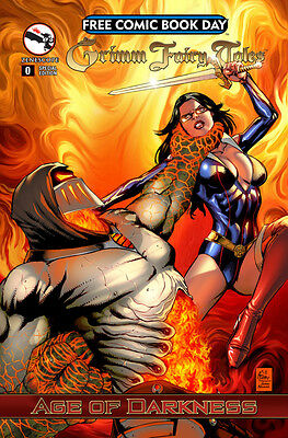 GRIMM FAIRY TALES #0 SPECIAL EDITION Age of Darkness FCBD 2014 ! ZENESCOPE