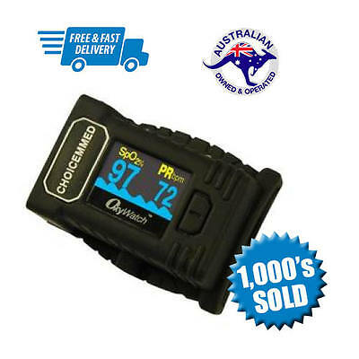 Choicemed CB3 Soft Fingertip Pulse Oximeter | Pulse Meter | Free Postage!