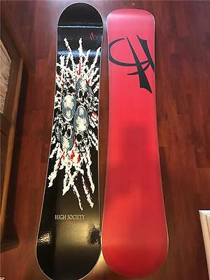 Winter Special High Society Twin Snow Board 158Cm Board Only 60% Off Retail