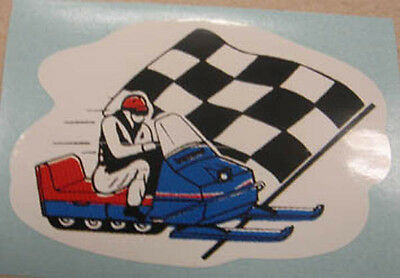 Bel-Mart Inc. Snow Cruiser 69-71 (right) reproduction vintage decals / stickers