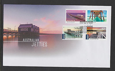 Australia 2017 : Australian Jetties, First Day Cover, Mint Condition.