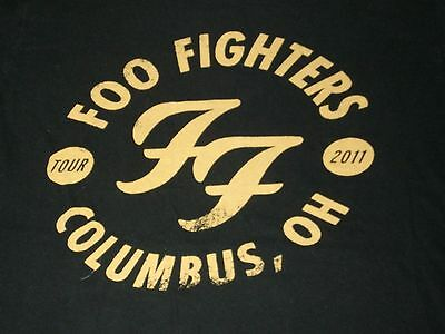 Foo Fighters WASTING LIGHT 2011 Tour Columbus, OH Ohio Arena Event T-Shirt