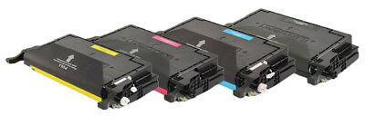 4 Toner cartridges compatible with Samsung CLP-620 Set