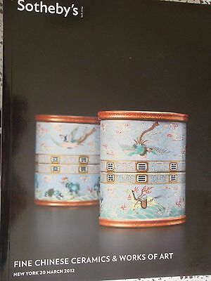 SOTHEBY's FINE Chinese Ceramics & Works of Art 20 MARCH  2012 NEW YORK
