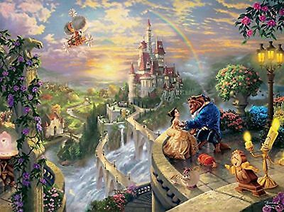Thomas Kinkade The Disney Dreams Collection: Beauty and The Beast Falling in ...