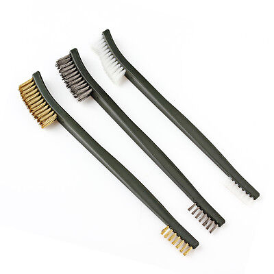 Practical Tactical Shotgun Double Ended With Brass Wire Cleaning Brush Tool Set#