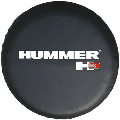 "New 16"" Spare Tire Cover Wheel For Hummer H3 Size L Black"