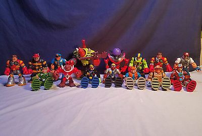 Fisher Price Rescue Heroes Lot 15 Figures Fire Fighter, Police, Space, Soldier