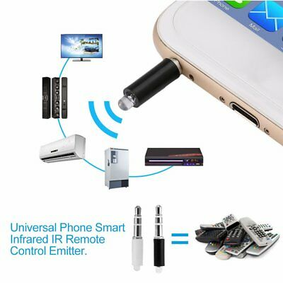 Universal Phone Smart Infrared IR Remote Control Emitter TV STB DVD Control  JR