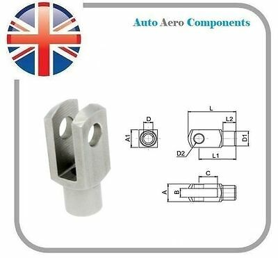 Clevis Fork - Steel BZP & Stainless Steel (304) Various Sizes Available