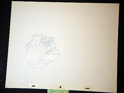 Beauty and the Beast - Original Walt Disney Animation Production Drawing (CC)