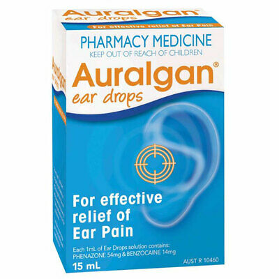 Auralgan Ear Drops 15Ml Effective Relief Of Ear Pain