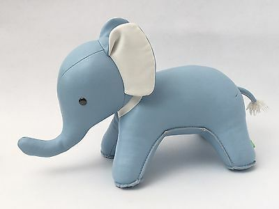 ZUNY Special Edition Baby Blue Abby Elephant Bookend Book End