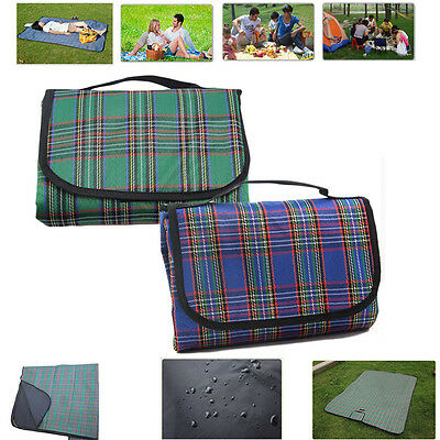 Waterproof Picnic Travel Pet Blanket Rug Outdoor Beach Camping Festival Large