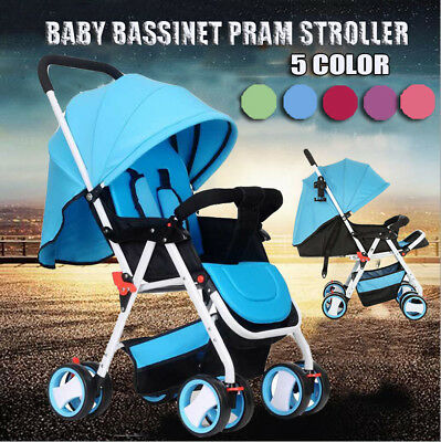 Baby Stroller Pram Carriage Infant Compact Umbrella Folding Pushchair Jogger