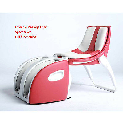 220V  Quality Modern Compact foldable full function massager chair Easy to carry