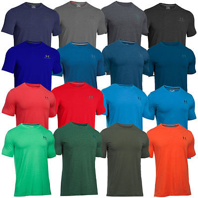Men's T-Shirt Under Armour Charged Cotton® Sportstyle Training Gym 1257616