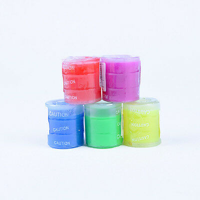 1PCS Colorful Barrel O Slime Goo Silly Putty Gag Kids Toys Prank Party Favors NT