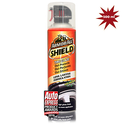 Armorall Shield Tire Glaze long lasting Polish Spray 500ml