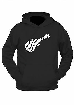 THE MONKEES HOODIE ! CLASSIC 1960'S   Black or grey  UNISEX s-2xl  ROCK