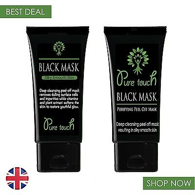 PURE TOUCH PURIFYING PEEL- OFF MASK-50ml(ACNE BLACKHEAD Remover)