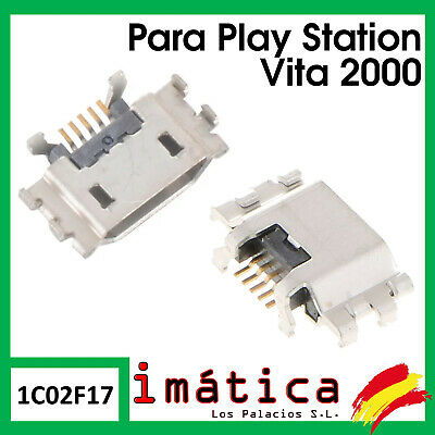 Conector De Carga Para Sony Ps Vita Slim Play Station 2000 Usb Port Connector